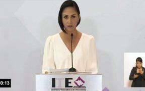 Aíslan a asistentes a debate con candidata a gubernatura de Tlaxcala que dio positivo a Covid-19