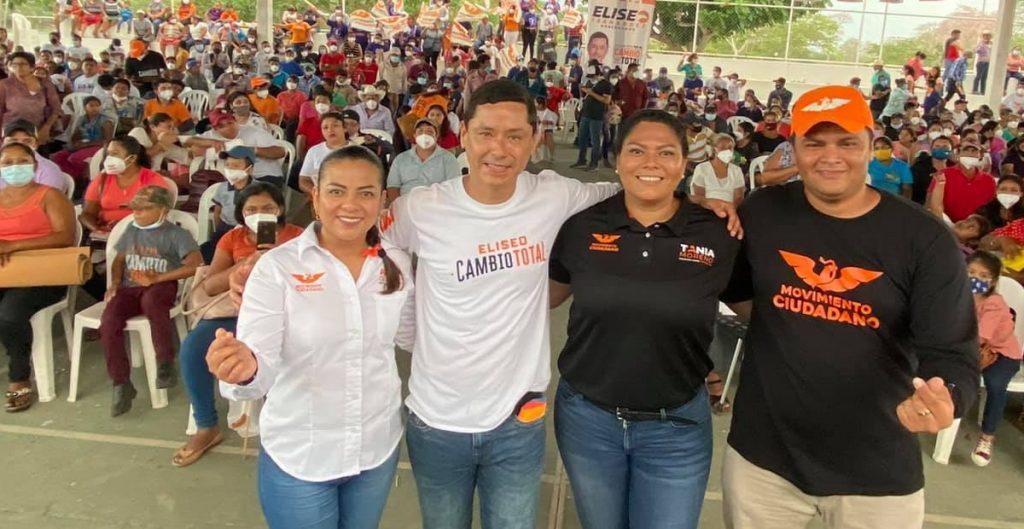 Candidato de MC a gubernatura de Campeche busca comprar votos, acusa Morena