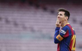 Messi deja anticipadamente al Barcelona, un mal presagio para quienes quieren verlo terminar su carrera en el club de toda su vida. (Foto: Reuters).