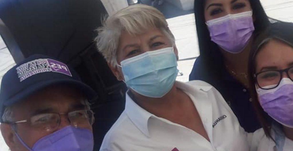 Amenazan a candidata del PES en Chihuahua simulando dejar un cadáver frente a su casa