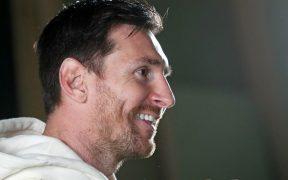 Messi disfrutó la amplia entrevista con Olé. (Foto: Olé).