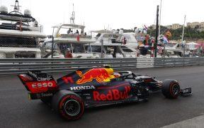 Pérez, en el circuito de Montecarlo. (Foto: Reuters).