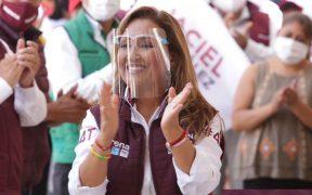 Candidata de Morena a gubernatura de Tlaxcala, la que más ha gastado en campaña
