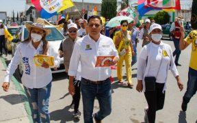 Candidata de Fuerza por México presenta denuncia formal contra Juan Carlos Velázquez por delitos electorales, en SLP