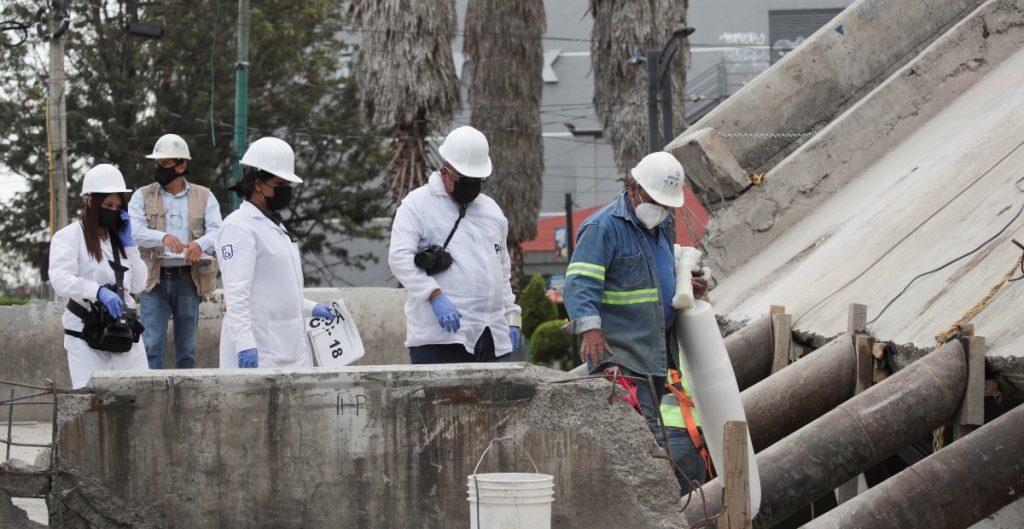 Comienza análisis de información de cajas negras de tren afectado por colapso de L12 del Metro