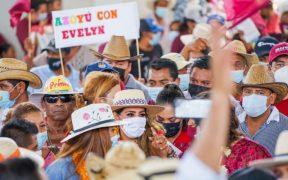 Candidatos a la gubernatura de Guerrero no cumplen con medidas sanitarias en sus mitines