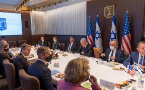 """Blinken promete """"movilizar apoyo internacional"""" para ayudar a Gaza tras bombardeos de Israel"""