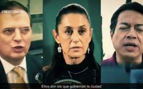 INE permite spot en el que se culpa a Ebrard, Sheinbaum y Delgado por el accidente de la Línea 12