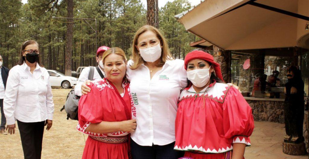 No voy a renunciar a la candidatura, pero les pido que voten por Maru Campos: Graciela Ortiz, abanderada del PRI al gobierno de Chihuahua
