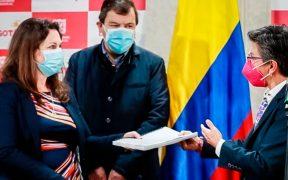 Alcaldesa de Bogotá entrega informe a la ONU-DH sobre las presuntas violaciones durante las protestas