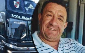 Gustavo Insúa conducía el autobús de River Plate, pero falleció por coronavirus. (Foto: Clarin.com).