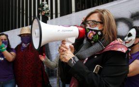Aplazan comisión permanente del Senado por protestas; PAN acusa a Morena de miedo a debatir