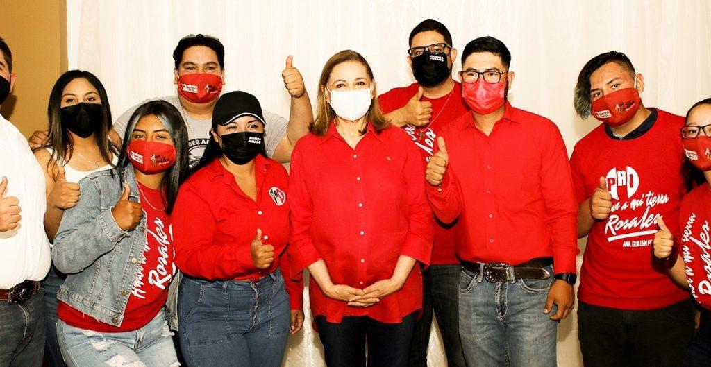 Militantes en Chihuahua piden expulsión del PRI de Graciela Ortiz por pedir el voto para Maru Campos