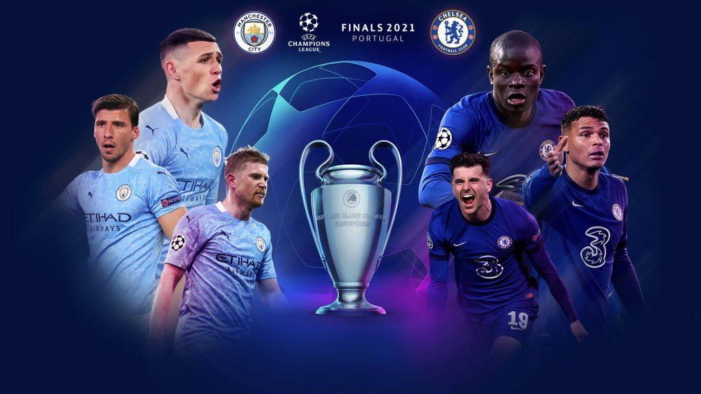 Manchester City y Chelsea se juegan el título europeo en Oporto. (Foto: UEFA).