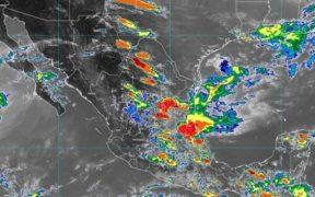 SMN pronostica fuertes lluvias en 11 estados y formación de tornados en dos entidades
