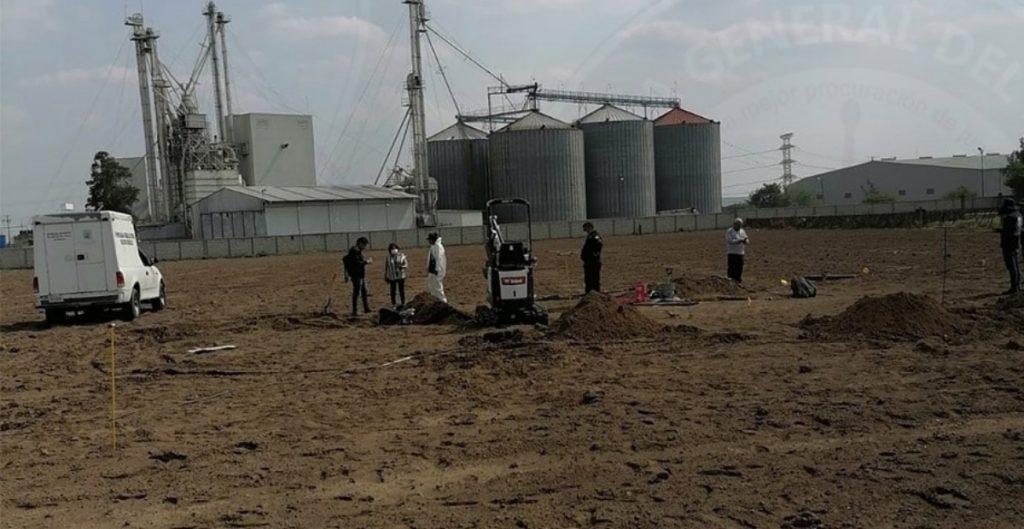 Fiscalía de Morelos halla restos óseos durante un cateo en Cuautla