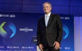 Mathias Cormann asume cargo de secretario general de la OCDE, releva a Ángel Gurría