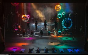 Teatro en el aire, conoce la obra inmersiva 'Bozal' en el Cenart hasta el 20 de junio