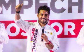 Candidato de FXM a la gubernatura de Campeche declina a favor de Christian Castro Bello