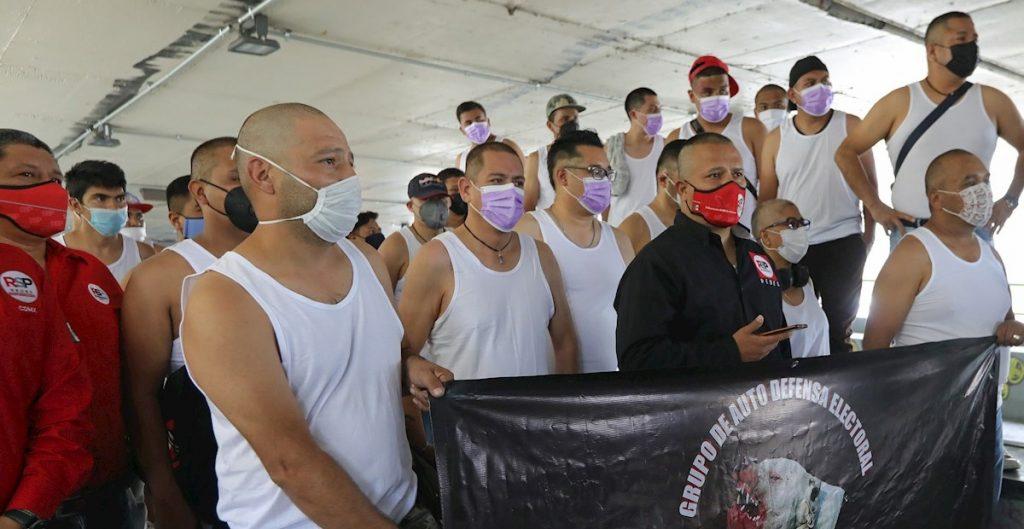 """RSP presenta a Los Mastines, su grupo de """"autodefensa electoral"""" en la CDMX"""