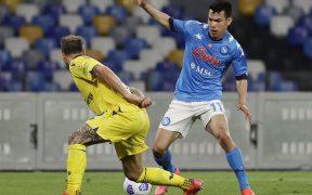 Chucky, en una acción con el Napoli. (Foto: Reuters).