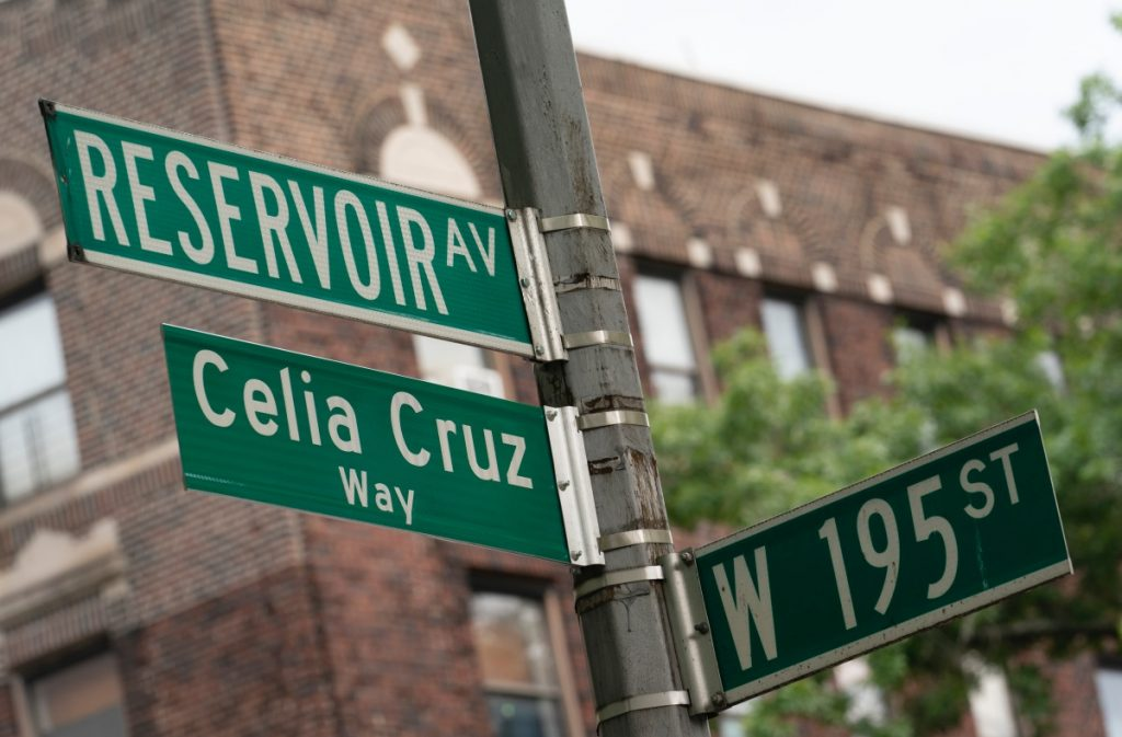 Celia Cruz es el nombre de una calle en Nueva York; así le rinden homenaje en EU