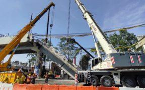Primeros resultados del peritaje del colapso en la Línea 12 en 3 o 4 semanas: Fiscalía CDMX