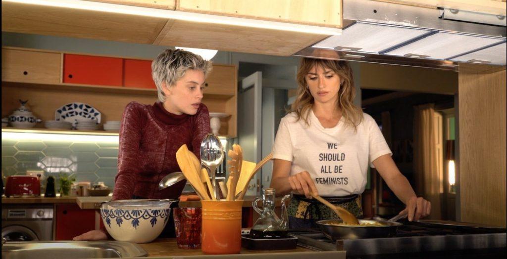 Almodóvar termina el rodaje de 'Madres paralelas'