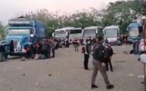 FGR detiene a 194 migrantes tras cateo en Chiapas