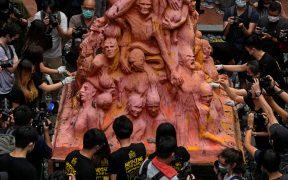 Detienen a organizadora de vigilia por Tiananmen en Hong Kong