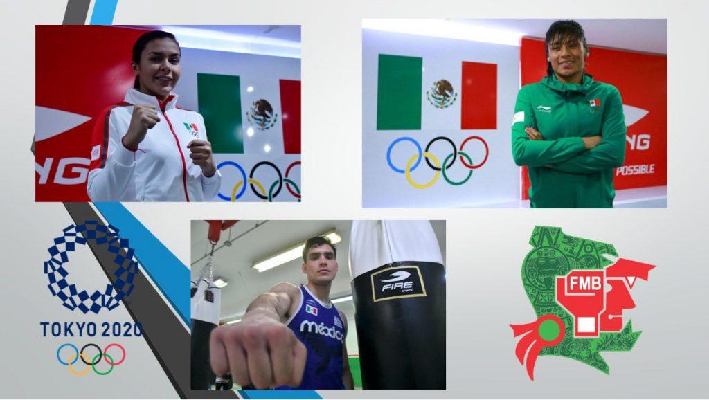 La Federación Mexicana de Boxeo presumió sus tres plazas para Tokio 2020. (Foto: @femebox).