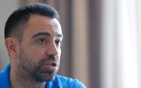 Xavi reconoció que aún no es su momento para dirigir al Barcelona. (Foto: EFE).