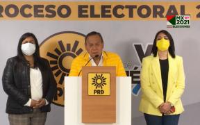 """PRD dice que la alianza """"Va por México"""" le ganó a Morena la mayoría calificada en la Cámara de Diputados"""
