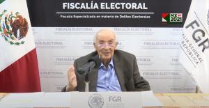 """""""Al declararse ganadores, candidatos rompen con la ley"""", afirma fiscal Electoral"""