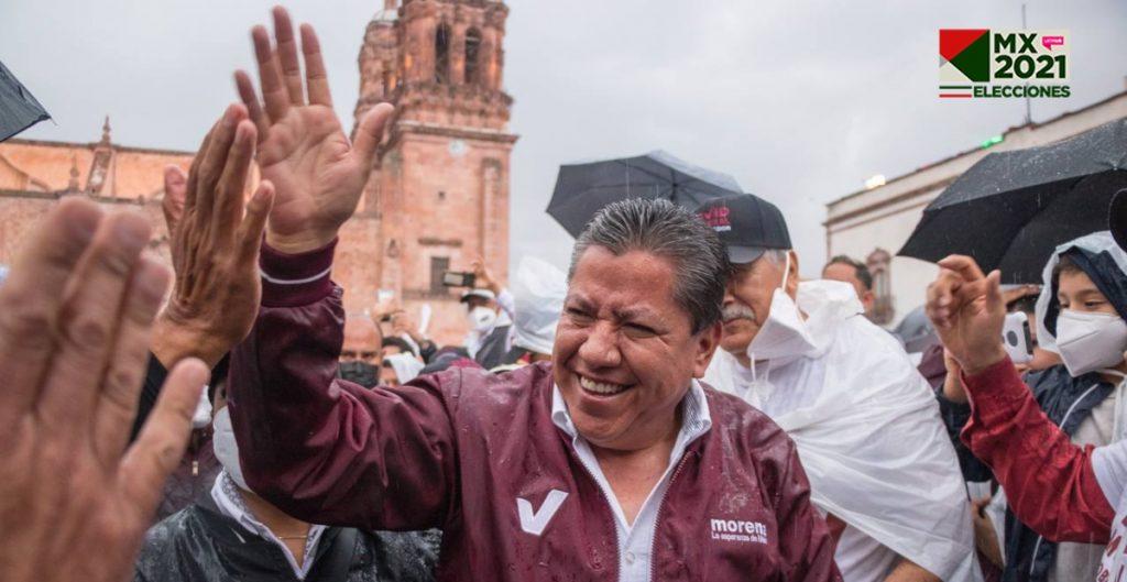 David Monreal, candidato de Morena, puntea contienda por gubernatura de Zacatecas, según conteo rápido