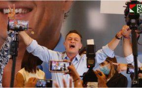 Con el 50% de votos computados, Kuri mantiene una ventaja de más de 55% 1:25 Mauricio Kuri, con holgada ventaja tras la mitad de las casillas computarizadas Con el 52.24% de las casillas computarizadas en el Programa de Resultados Electorales Preliminares (PREP), el candidato del Partido Acción Nacional (PAN), Mauricio Kuri, encabeza las votaciones con un porcentaje de 55.60% de los votos contabilizados hasta el momento. Kuri aventaja por más de 30 puntos porcentuales a su más cercana competidora, la morenista Celia Maya García, quien acumula apenas el 23.58% de los votos ya contados. En tercer lugar está el priista Abigail Arredondo Ramos con el 11.34% de los sufragios que están registrados en el PREP.