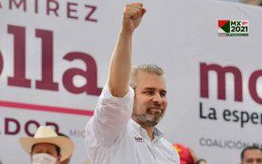 El morenista Ramírez Bedolla aventaja con 2.4% a Herrera en la contienda por la gubernatura de Michoacán, según el conteo rápido