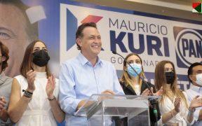 Mauricio Kuri se perfila como el ganador de la gubernatura de Querétaro con el 54% de los votos, según el PREP