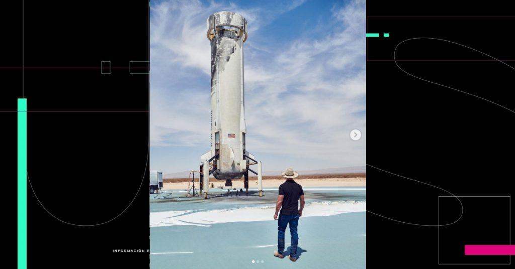 Jeff Bezos anunció que viajará al espacio el 20 de julio en su cohete New Shepard