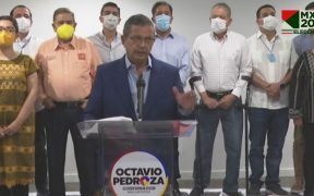 Octavio Pedroza, candidato al gobierno de SLP de 'Si Por San Luis', desconoce resultado del conteo rápido