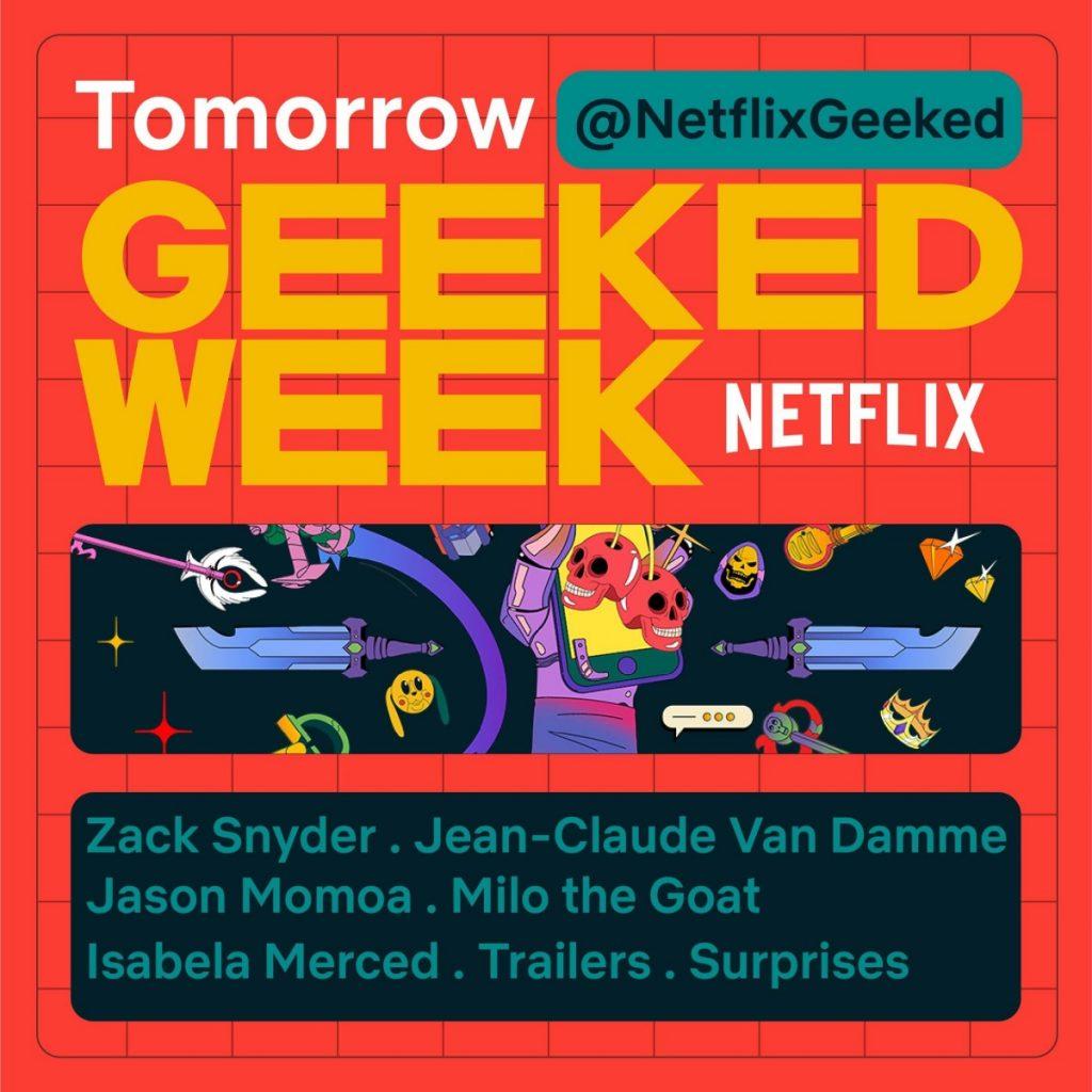 Netflix tendrá su propia semana geek con anuncios sobre las próximas series