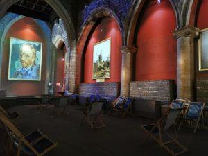 Nueva York es el nuevo destino de las exposiciones inmersivas de Van Gogh