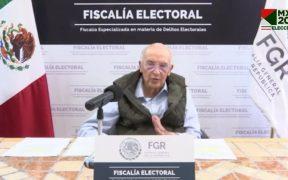 Elecciones arrojan 38 detenidos, revela Fiscalía Especializada de Delitos Electorales