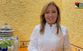Morenista Lorena Cuéllar, con casi la mitad de los votos por la gubernatura de Tlaxcala, de acuerdo con el PREP