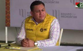Líderes del PRI-PAN-PRD en Michoacán denuncian que grupos armados intimidaron a ciudadanos en elecciones en Tierra Caliente
