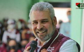 El morenista Ramírez Bedolla lidera las preferencias en Michoacán con 2.56% sobre Herrera al cierre del PREP