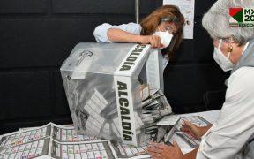 PRI-PAN-PRD en la CDMX, adelante en 8 alcaldías; Morena-PT, en 18 diputaciones, al cierre del PREP