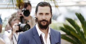 Matthew McConaughey revela en biografía que fue víctima de abuso sexual en su adolescencia