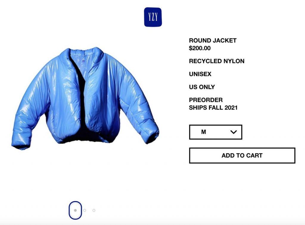Una chaqueta de 200 dólares, la primera creación de Kanye Gest para Gap