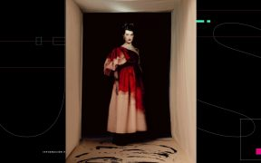 Anémonas y agua, los motivos recurrentes en la nueva colección de Alexander McQueen